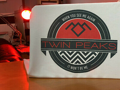 Twin Peaks Emblem T-Shirt - David Lynch Black Lodge Inspired Tee by Rev-Level