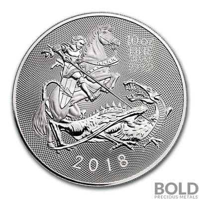 2018 Silver Great Britain Valiant - 10 oz
