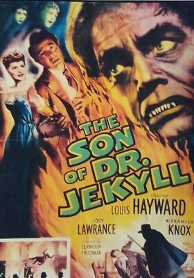 THE SON OF DR. JEKYLL (DVD 1951 Louis Hayward classic horror)