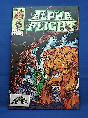 Marvel Alpha Flight Comic #9 Apr 1984