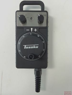 TOSOKU HC115 Manual Pulse Generator MPG 4-Axis Hand Wheel for FANUC w/2M cable