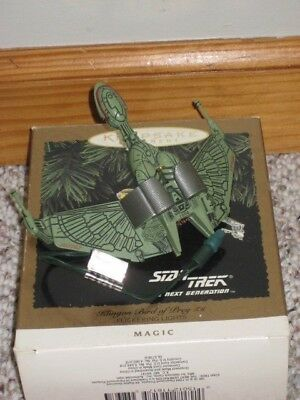 Star Trek The Next Generation Klingon Bird of Prey Hallmark Christmas Ornament