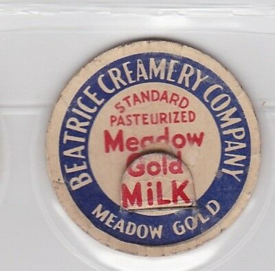 Beatrice Creamery Company-Meadow Gold milk cap-Omaha, Nebraska