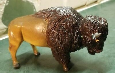 AAA Buffalo Bison Bull Model Plastic Toy Figurine