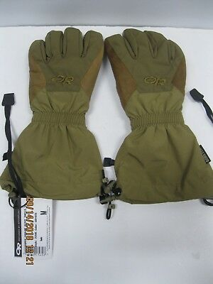 OR Super Couloir Glove Shells , US Coyote sz MED # 73185 * Snow Mobile Snow Ski