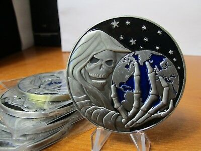 5 Central Intelligence Agency CIA Special Activities Reaper Challenge Coins