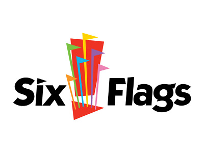 1 SIX FLAGS THEME PARK OR WATER PARK TICKET - 1 Day Admission - Adult or Child