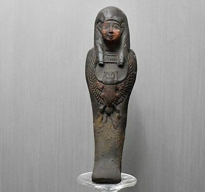 ANCIENT EGYPT ANTIQUE  EGYPTIAN beautiful USHABTI statue (300-1500 BC