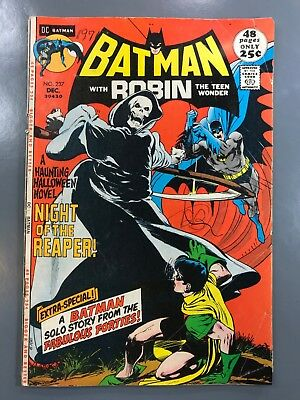 Batman #237 1971 First 1st Appearance The Reaper Classic Neal Adams Cover