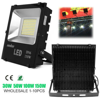 150W LED Flood Light Super Bright Work Equivalent for Outdoor Garage Garden Lawn