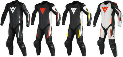 Dainese Mens Assen 1 Piece Perforated Leather Suit