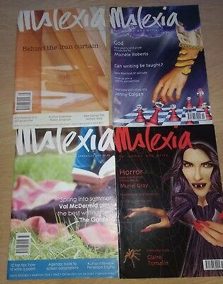 Ms Lexia Mslexia Magazine Four 4 Different Issues Nos. 21 23 33 & 35 2004 - 07