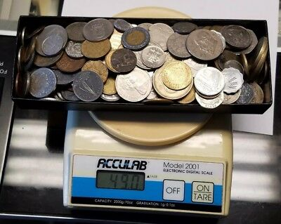 3 Pounds Lbs World Foreign Coin Mixed Lot!