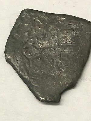 Unidentifiable Shipwreck Spanish Silver 2 Reales 5.5 Grams