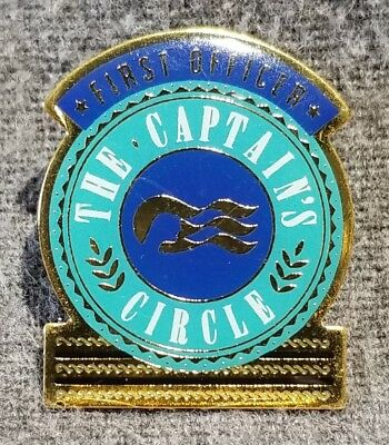 LMH PINBACK Lapel Pin CAPTAIN's CIRCLE Captains FIRST MATE Princess Cruise Line