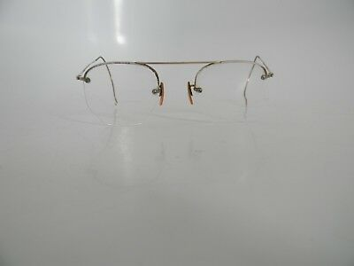 Vintage Adult Pair of Gold Filled GF Wire Glasses