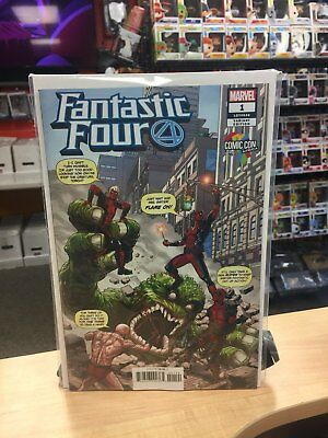 Fantastic Four (2018) #1 Deadpool Africa Comic Con Variant Cover