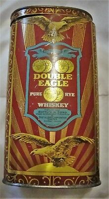 Double Eagle  Whiskey  Tin