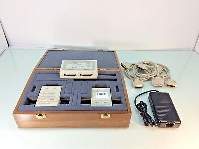 HP Agilent 85062B 3.5mm Electronic Calibration Kit w/ Interface Module - TESTED