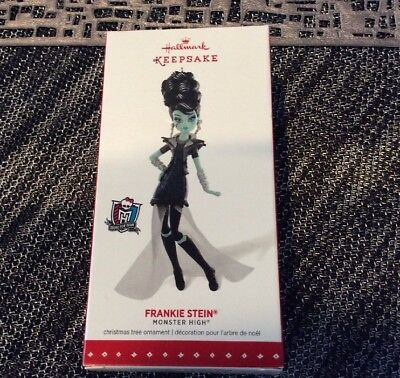 NIB Hallmark 2015 Keepsake FRANKIE STEIN Monster High Christmas Ornament