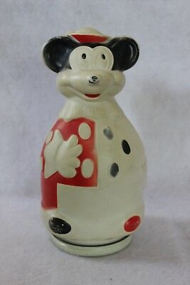 Mickey Mouse Nabisco Puppets Wheat Puffs Plastic Cereal Bank , Vintage 1966