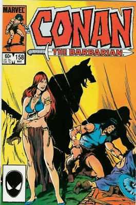 Conan the Barbarian (1970 series) #158 in NM minus condition. Marvel comics