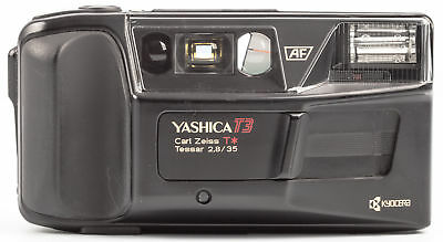 Yashica T3  35mm 2,8 T* Tessar Zeiss SHP55538