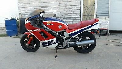 1985 Honda Interceptor  1985 Honda VF1000R motorcycle 17k mile garage find project