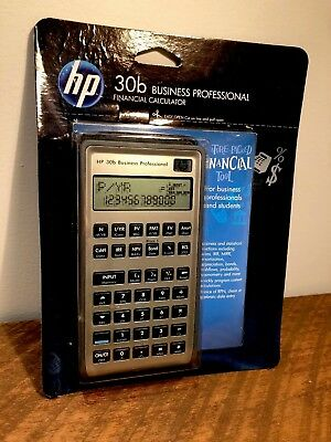 HP 30B Financial Calculator Business Professional SEALED 30 B Statistical
