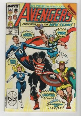 Marvel Comics Avengers #300 New Lineup Inferno X-over Copper Age