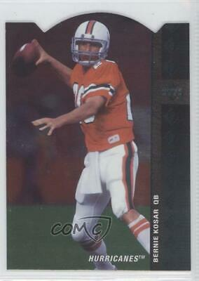 2012 SP Authentic 1994 Die Cut 94SP2 Bernie Kosar Miami Hurricanes Football Card