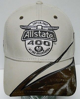 2007 ALLSTATE 400 BRICKYARD Limited Edition NASCAR RACING Hat Cap TONY STEWART