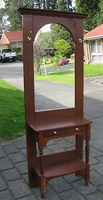Vintage Wooden Hall Stand
