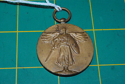 WW1 US Army Victory Medal no Ribbon  WWI 09-042