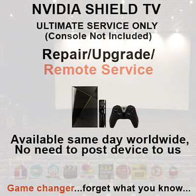 NVIDIA Shield TV Pro Android Remote Install Service IPTV & VPN Available too!