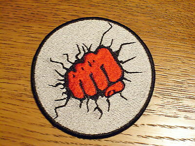 FIST THRU THE WALL Embroidered Patch