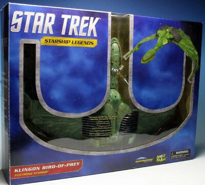 Diamond Select Star Trek Klingon Bird-of-Prey 29x45 cm Raumschiff ***NEU***