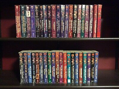 Lot of Shadowrun Novels, Entire Set of 40 original FASA books + 6 WizKids books