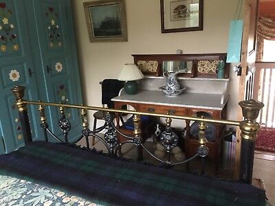 Antique marble top wash stand, good condition - very heavy