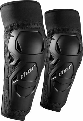 Thor Mens Sentry MX Motocross Elbow Guard Forearm Protectors Pair S/M Black