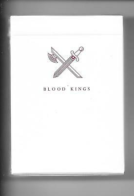 Blood Kings V2 Deck Of Playing Cards By ELLUSIONIST SEALED NEW