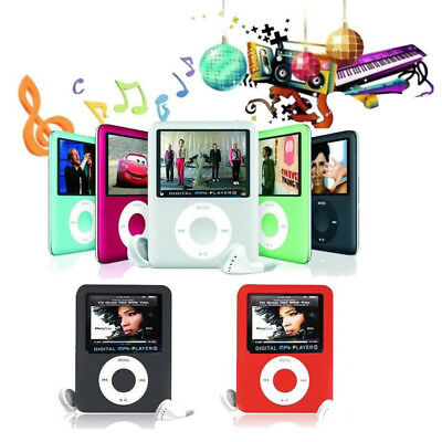 "2018 Portable 8-32GB MP3/MP4 Player 1.8"" LCD Screen FM Radio Video Games"