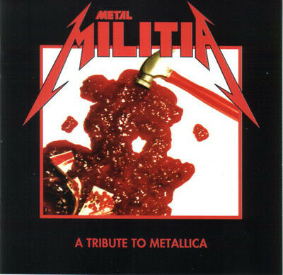 Metal Militia - A Tribute To Metallica RARE COLLECTOR'S NEW CD! FREE SHIPPING!