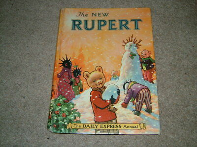 RUPERT ANNUAL. 1954. [No facsimile published.]