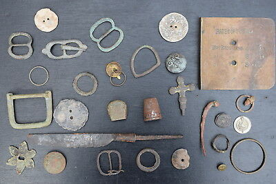 Metal Detecting Finds & Old Postage Plate