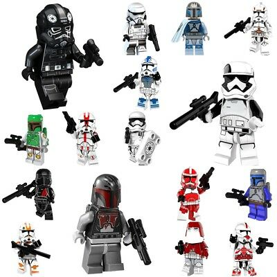 All Clone Trooper Stormtrooper Star wars Praetorian Guard Minifigures fit lego