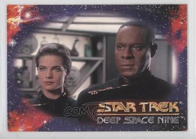 1993 SkyBox Star Trek Deep Space Nine #N/A Header (Commander Benjamin Sisko) 0y9