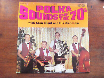 Stan Blout LP Polka Sounds Of The 70s button box cleveland