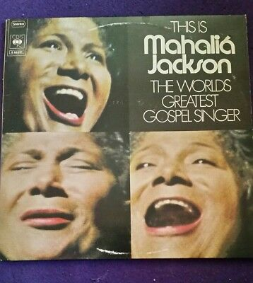 LP Vinyl THIS IS MAHALIA JACKSON - CBS S66241 - 1973 - DOPPEL ALBUM