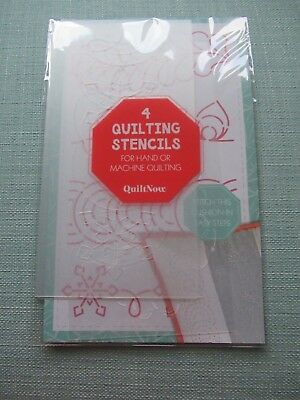 4 Quilting Stencils For Hand Or Machine Quilting From Quilt Now